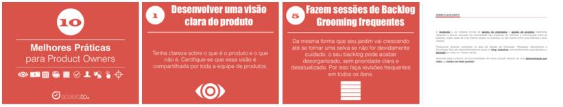 Telas - 10 melhores práticas para Product Owner