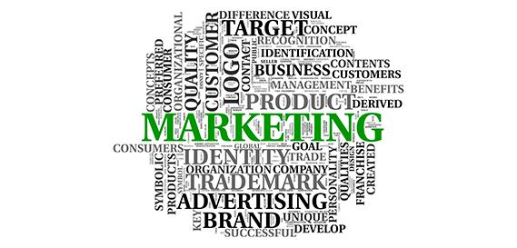 A Importância do Marketing - Tag de palavras